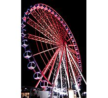 Ferris Wheel at Southbank, Brisbane Photographic Print