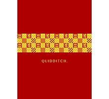 Gryffindor Quidditch.  Photographic Print