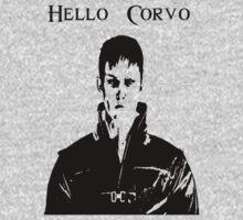 Whale Satan Says Hello, Corvo by Argetgarm