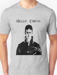 Whale Satan Says Hello, Corvo T-Shirt