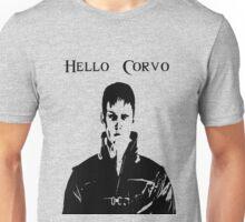 Whale Satan Says Hello, Corvo Unisex T-Shirt