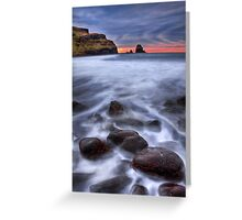 Talisker bay, Isle of Skye, Scotland. Greeting Card