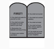 The Ten Commandments... FIRST! by JimMD102