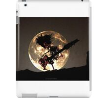 SKELETON MOON iPad Case/Skin