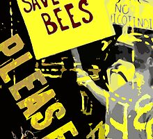 Please save the bees by Altimetry
