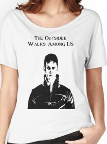 The Outsider Walks Among Us - Hello Corvo Alt Women's Relaxed Fit T-Shirt