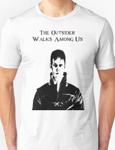 The Outsider Walks Among Us - Hello Corvo Alt T-Shirt