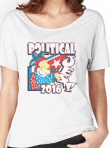 POLITICAL JEST Women's Relaxed Fit T-Shirt