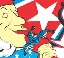 POLITICAL JEST Sticker