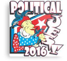 POLITICAL JEST Metal Print