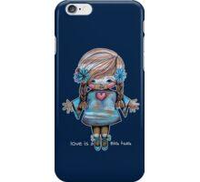Love is a BIG hug Tee iPhone Case/Skin