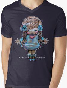 Love is a BIG hug Tee Mens V-Neck T-Shirt