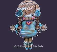 Love is a BIG hug Tee Womens Fitted T-Shirt
