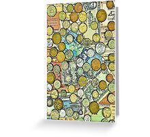 Foreign Currency Greeting Card