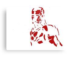 Tin man silhouette Canvas Print