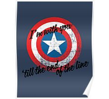 I'm With You Shield Poster