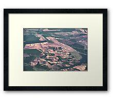 Spanish Plains Framed Print