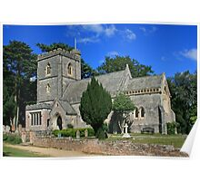 St Mary's Church, Brownsea Island Poster