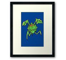 ScatterBrain Green Framed Print