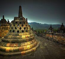 Candi Borobudur by Charuhas  Images