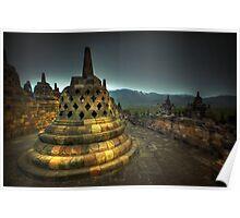 Candi Borobudur Poster
