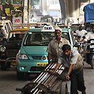 Mohammed Ali Road, Mumbai, Maharashtra, India  by RIYAZ POCKETWALA