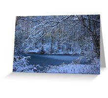 The Freezing Greeting Card