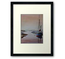 Resting Place - Blakeney, Norfolk Framed Print