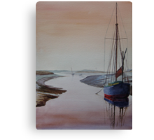 Resting Place - Blakeney, Norfolk Canvas Print