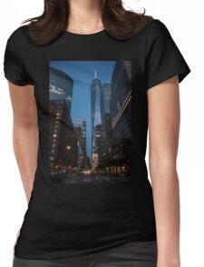 World Financial Center: One World Trade Center Womens Fitted T-Shirt