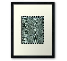 Crystal Wave Framed Print