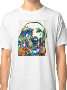 Labrador Retriever Art - Play With Me - By Sharon Cummings Classic T-Shirt