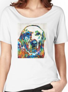 Labrador Retriever Art - Play With Me - By Sharon Cummings Women's Relaxed Fit T-Shirt