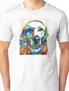 Labrador Retriever Art - Play With Me - By Sharon Cummings Unisex T-Shirt