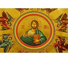 Pantocrator (All-Ruler) Icon Photographic Print