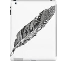 Feather - Zentangle iPad Case/Skin