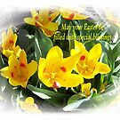 Easter Blessings by Marie Sharp