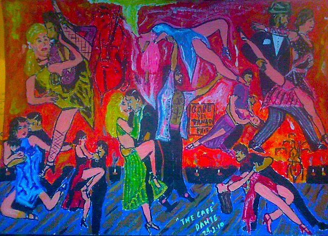 """Final Proud!! .""""Cafe del Tango""""...by Dante.  by tim norman"""