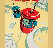 Skyway Attraction Poster by rachelgracey