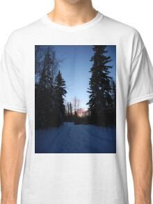 Over the river and through the woods Classic T-Shirt