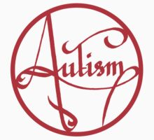 Autism is simply beautiful - Red Kids Clothes
