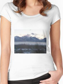 Alaska Range Women's Fitted Scoop T-Shirt