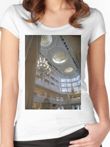 Floridian hotel, Orlando 2  Women's Fitted Scoop T-Shirt