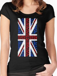 The Silence of the British Women's Fitted Scoop T-Shirt