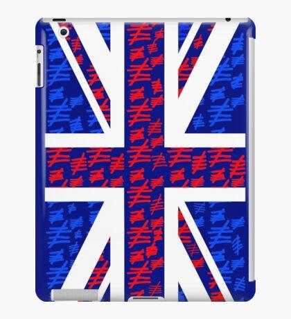 The Silence of the British iPad Case/Skin