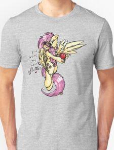 [My Little Pony] Fluttershy - You Make My Heart Flutter [Words] T-Shirt