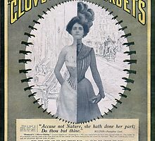 Victorian Corset Ad from 1900 by christinemk