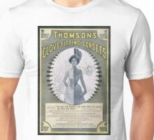 Victorian Corset Ad from 1900 Unisex T-Shirt