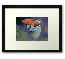 Koi Fish Painting Framed Print
