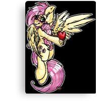 [My Little Pony] Fluttershy - You Make My Heart Flutter [No Words] Canvas Print